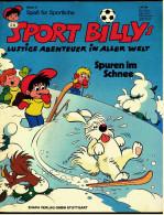 Comic  Sport-Billys Lustige Abenteuer In Aller Welt  -  Spuren Im Schnee  -  Band 2  -  Ehapa Verlag - Books, Magazines, Comics