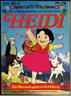 Heidi  -  Ein Wunsch Geht In Erfüllung  -  Comics Nr. 53 Von Ca. 1980 - Unclassified