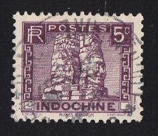 INDO CHINA - Scott #154 Tower At Ruins Of Angkor Thom (*) / Used Stamp - Indochina (1889-1945)