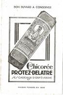 Buvard Chicoree Protez Delatre - Buvards, Protège-cahiers Illustrés