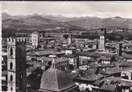 C P S M- C P M---ITALIE---LUCCA---panorama ---voir 2scans - Lucca