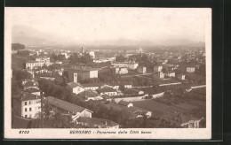 Cartolina Bergamo, Panorama Della Città Bassa - Bergamo