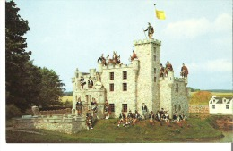 """Miniature Dunvegan Castle On The Grounds Of The """"Woodleigh Replicas"""" Near Kensington, Prince Edward Island - Other"""