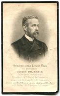 Image Pieuse Mortuaire Albert DUJARDIN - Images Religieuses