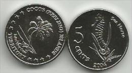 Cocos (Keeling) Islands 5 Cents 2004. Unc - Autres – Océanie