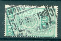 """BELGIE - OBP Nr TR 138 - Cachet  """"NORD-BELGE - NAMUR 5"""" - (ref. VL-9733) - Chemins De Fer"""
