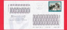 ITALIA ~ Storia Postale ~ Busta Del 2014 ~ {2013 - Turismo - 0,70 € • San Leo ) - 6. 1946-.. Repubblica