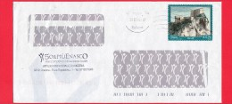 ITALIA ~ Storia Postale ~ Busta Del 2014 ~ {2013 - Turismo - 0,70 € • San Leo ) - 6. 1946-.. Republik