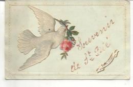 Souvenir De Saint Dié (carte Fantaisie) - Saint Die