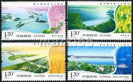 China - 2010 - 60th Anniversary Of Harnessing Huanhe River - Mint Stamp Set - Nuovi