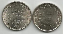 Peru 5 Intis 1987. High Grade - Pérou