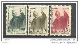 MARI21-L30592TRI.Maroc .Marocco.MARRUECOS REINO INDEPENDIENTE.1957. (Ed 21/3**)sin Charnela.LUJO - Islam