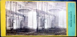 PHOTO STEREO  MARSEILLE LE CHATEAU DES FLEURS  PAYS DECOUVERTE   VERS  1860/1870 - Stereo-Photographie