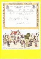 * Telegram - Télégramme (A6 - V)  * Koninkrijk België, Regie Van Telegraaf En Telefoon, Fantaisie, Huwelijk, Oostkamp - Entiers Postaux