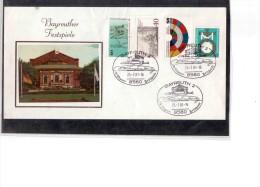 715    -     BAYREUTH  25.7.1981  /     R.WAGNER FESTSPIELE - Music