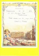 * Telegram - Télégramme (B10 - V)  * Koninkrijk België, Regie Van Telegraaf En Telefoon, Fantaisie, Huwelijk, Oostkamp - Entiers Postaux