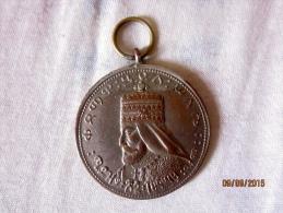 Haile Selassie Coronation Medal (40 Mm) - Non Classés
