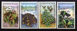 Ocean Indien **  N° 78 à 81 - Fleurs Sauvages  - - Seychelles (1976-...)