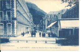 Cauterets Avenue Du Mourmelon Vert - Cauterets