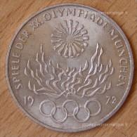 Allemagne 10 Mark J.O De Munich 1972 ARGENT - [ 7] 1949-… : FRG - Fed. Rep. Germany