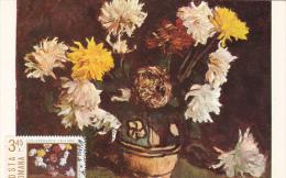 Chrysanthemums - STEFAN LUCHIAN - Maximumkarten (MC)