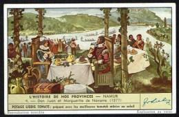 LIEBIG  - FR - 1 Chromo - S.1523 - N° 4 - Histoire De Nos Provinces - Flandre Occidentale. - Liebig