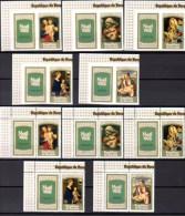Noël Avec Vignette, Madones, 820 / 824** + Non Dentelés - 1970-79: Neufs