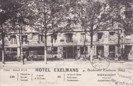 PARIS - AUTEUIL - Hôtel EXELMANS 4, Boulevard Exelmans - 130 Chambres à Partir De 13 Francs - Restaurant.... - Paris (16)