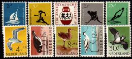 Ned 676-80, 752-6 Postfris, 1956 Olympische Spelen, 1961 Zomer - Period 1949-1980 (Juliana)