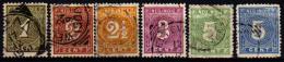 Ned Indië 17-22 Gebruikt, 1883 Cijfer - Niederländisch-Indien