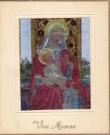Carte Lumiseuse -  Vive Maman - ( Enfants   ) - Fête Des Mères