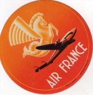 AUTOCOLLANT AIR FRANCE  La Crevette - Stickers