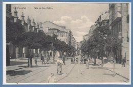 ESPAGNE -- La Coruna --  Calle De San Andrés - La Coruña