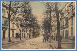 ESPAGNE -- JEREZ --  Calle Sagasta - Espagne