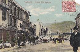 Italie - Vintimiglia - Ventimiglia - Piazza Della Stazione - Gare - Postmarked 1910 - Imperia