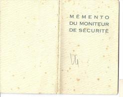 Mémento Du Moniteur De Sécurité ( Illustration Illustrateur PIMO ) Edf Service Prévention ( Feu Travaux  ) - Alte Papiere
