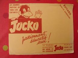 Buvard Jocko, Journal Pour Enfants . Vers 1950. - J