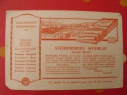 Buvard Coton Pansements Stéridrophil Wuhrlin. Vers 1950. - Buvards, Protège-cahiers Illustrés