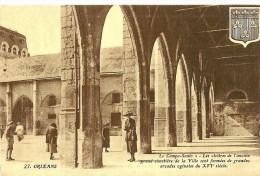 Orleans. Le Campo Santo, Les Arcades Des Cloitres De L'ancien Grand Cimetière. - Orleans
