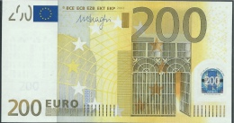 GERMANY X 200 EURO  R008 C3  - DRAGHI   FDS/UNC/NEUF - EURO