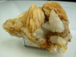 BARYTINE NOYAU DE PECHE ET QUARTZ  6,5 X 3,5 CM RIGOUX - Mineralien
