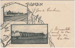 26041g TIENTSIN - Station - Village