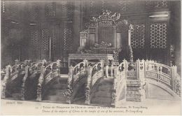 26077g  CHINA - Throne Of The Emperor Of China In The Temple Of One Of His Ancestors - Pi-Yung-Kong - Chine