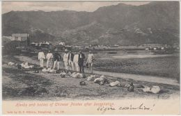 26080g  CHINA - Heads And Bodies Of Chinese Pirates After Decapitation - Chine