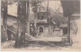 26082g  CHINA - Court-yard Of On Old Chinese Temple - Chine
