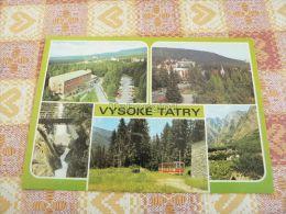 Tatransky Národny Park, Vysoké Tatry (The High Tatras, Magas-Tátra) Slovakia - Slovacchia