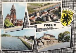 C P S M- C P M---59---BAUVIN---multivues---voir 2 Scans - France