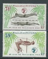 Wallis Et Futuna N° 243 / 44 XX  Sport : 6ème Jeux Du Pacifique-Sud, Les 2 Valeurs Sans Charnière,  TB - Unclassified