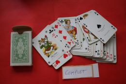 PAQUET DE Jeu De 32 CARTES A JOUER  FRED.PIATNIK & SOHNE ,WIEN XIV. SKAT 32 BLATT FRANZOS . BILD  N° 206 COMPLET - 32 Cards