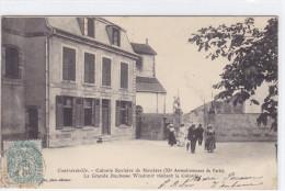 Contrexville - Colonie Scolaire De Mandres (XIe Arrondissement De Paris) La Grande Duchesse Wladimir Visitant La Colonie - Vittel Contrexeville
